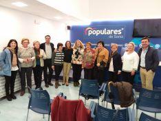 Reunión del PP de Soria con AMFAR. PP de Soria