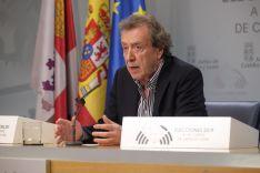 José Antonio de Santiago-Juárez, vicepresidente y consejero de la presidencia en la Junta de Castilla y León. Junta de Castilla y León