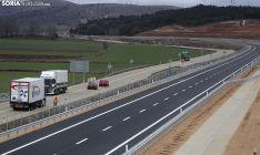 Imagen de la apertura del tramo Santiuste y El Burgo el 10 de abril. /SN