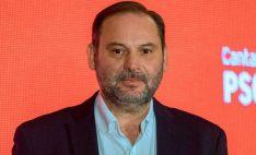 José Luis Ábalos, en un acto electoral del PSOE.