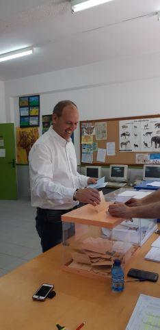 Alberto Abad, alcalde de Duruelo de la Sierra.