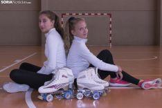Ana Arancón y Gabriela Sanz, clasificadas para el Nacional de patinaje artístico. Jasmín Malvesado