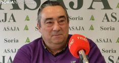 Carmelo Gómez, presidente de ASAJA. /SN