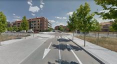Imagen de la calle donde se ha producido el incendio. /GM
