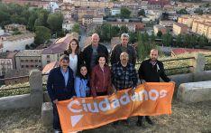 La candidatura de Cs para el Ayuntamiento de Arcos de Jalón.