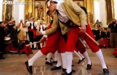 Danzantes de Casarejos en una imagen de archivo. /SN