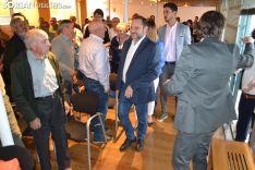 Una imagen de la visita del ministro este martes. /SN