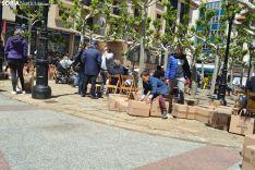 Una imagen de la plaza este sábado. /SN