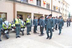 Una de las imágenes de este miércoles en la Comandancia de Soria. /SN