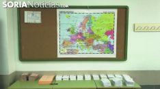Papeletas en un colegio electoral de la provincia. /SN