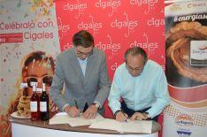 Foto 3 - El Torrezno de Soria amplía fronteras con su hermanamiento con el vino Cigales