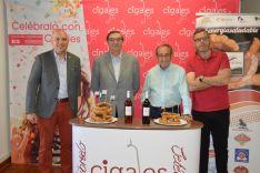 Foto 4 - El Torrezno de Soria amplía fronteras con su hermanamiento con el vino Cigales