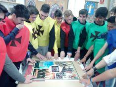 Una imagen del desarrollo del juego en el CIFP Pico Frentes.