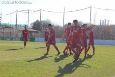 El Numancia B superó al Beroil Bupolsa (2-1) en la Ciudad del Fútbol.