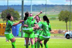 El CD San José femenino acabó goleando (2-5) al Palencia para ascender a la Liga Gonalpi. Izana Silva