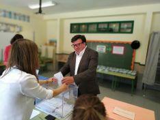 Jesús Cedazo, candidato socialista al Consistorio adnamantino.