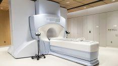 Una unidad de radioterapia.