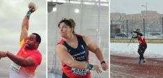 Participación castellana y leonesa en el Encuentro de lanzamientos. Federación de Atletismo de Castilla y León