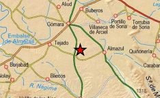 Lugar donde se ha localizado el seismo. /IGN