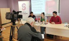 Rueda de prensa este jueves de Soria en Común. /SeC