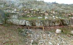 Uno de los tramos de muralla en los que está previsto actuar. /SN