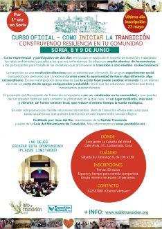Foto 2 - Curso sobre la transformación de sociedades y personas en Soria