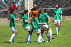 El San José celebra uno de los goles. Izana Silva