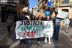 Manifestación de Juventud Soriana por el Clima.