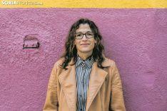 Noemí Moreno, alcaldesa de Fuentelmonge. Carmen de Vicente