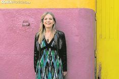 Ana Bárcena García, alcaldesa de Muriel Viejo. Carmen de Vicente
