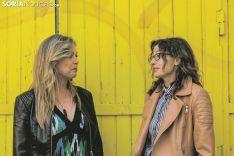 Ana Bárcena García (izquierda) y Noemí Moreno Peña, alcaldesas de Muriel Viejo y de Fuentelmonge. Carmen de Vicente