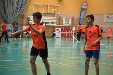 Torneo Popular de Bádminton.