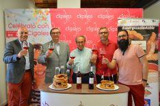 El Torrezno de Soria amplía fronteras con su hermanamiento con el vino Cigales