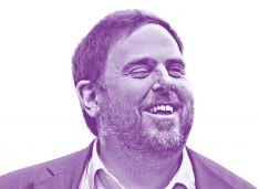 Cartel electoral de Oriol Junqueras.