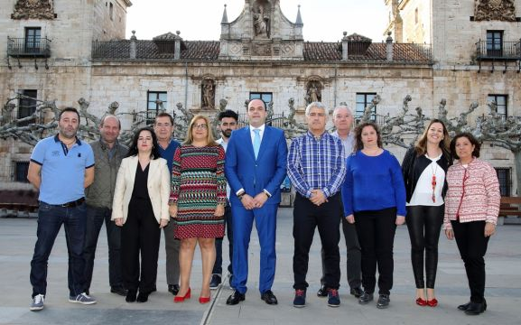 La candidatura del PP burgense a las municipales.