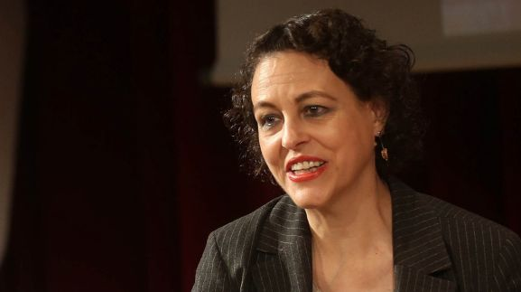 La ministra, Magdalena Valerio. /mitramiss