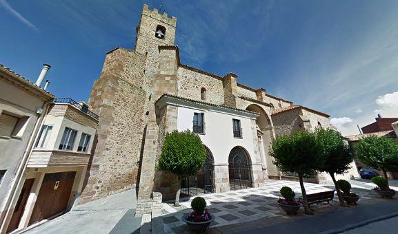 El templo parroquial de Santa María la Mayor. /GM