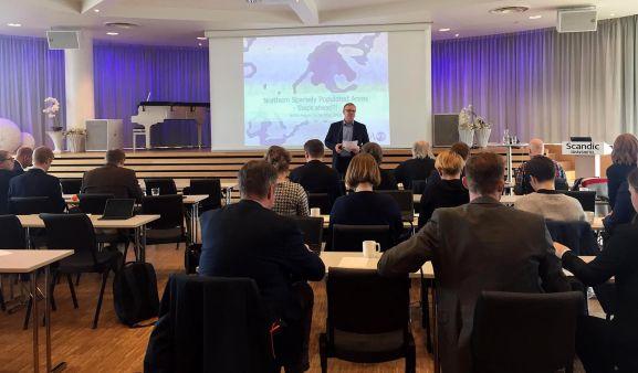 Una imagen del foro celebrado en Noruega. /SSPA