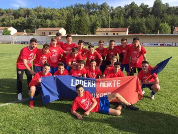 El Uxama Cadete, campeón de la Primera división Provincial de Cadetes. SC Uxama