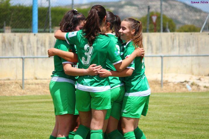 El San José femenino tuvo que remontar en Palencia (2-5) para ascender a la Liga Gonalpi. Izana Silva