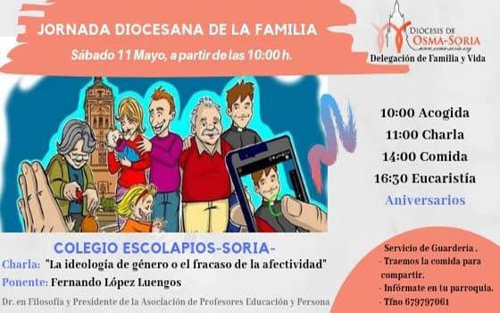 Foto 1 - Este sábado, encuentro diocesano de familias