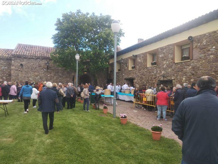 Una imagen de la tarde en torno a la ermita de Olmacedo. /SN