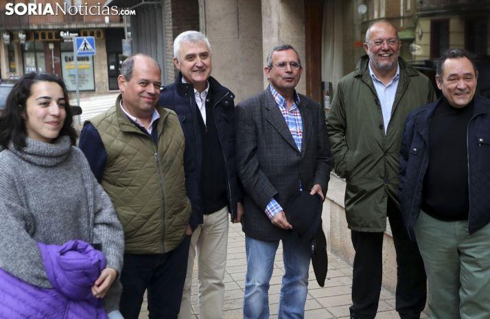 """Foto 2 - Igea (Cs): """"El cambio no es cambiar PP por PSOE en Castilla y León"""""""