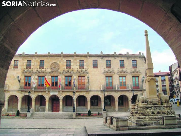 Foto 1 - 445.000 euros para la contratación de desempleados en Soria capital
