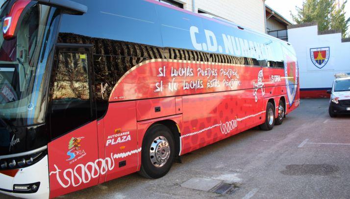 Foto 1 - El Numancia pone un autobús para el partido contra el Zaragoza el domingo