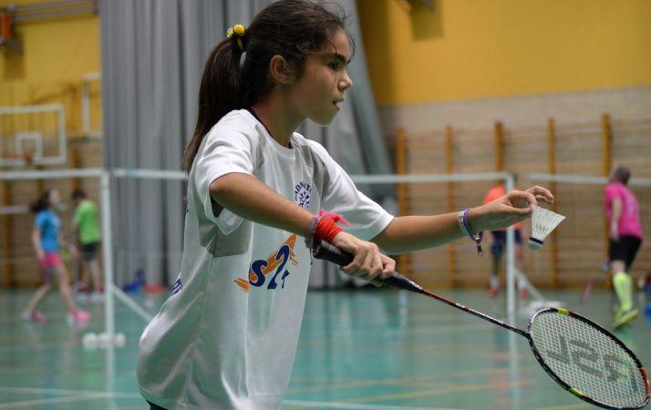 Una joven jugadora del CBS-CS24.