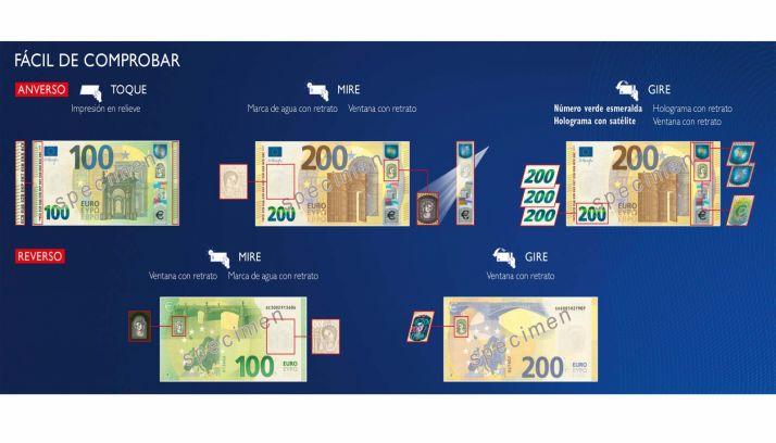 Foto 1 - Entran en curso los nuevos billetes de 100 y de 200 euros