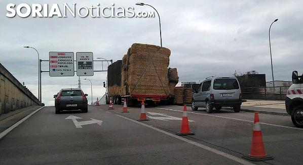 Imagen del vehículo esta mañana. /SN