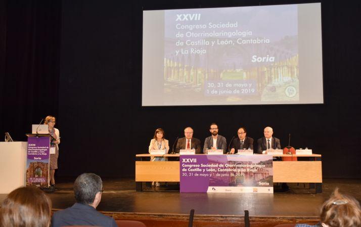 Foto 2 - Soria acoge el XXVII Congreso de la Sociedad de Otorrinolaringología de CyL, Cantabria y La Rioja