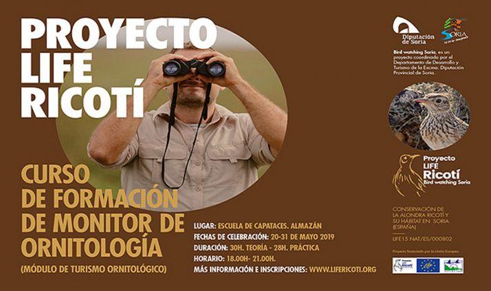 Foto 1 - La Diputación organiza un curso de monitor de ornitología en la Escuela de Capataces de Almazán